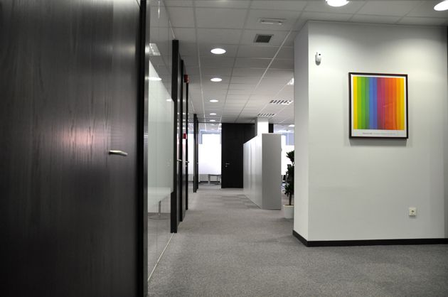 , Complete office refurbishment in Madrid